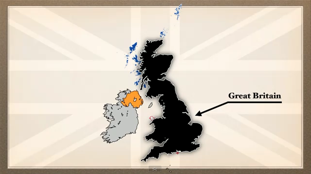 The UK, Great Britain and England explained.